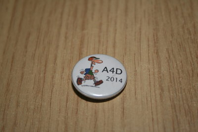 Buttonspeld A4D 2014 jongen wit