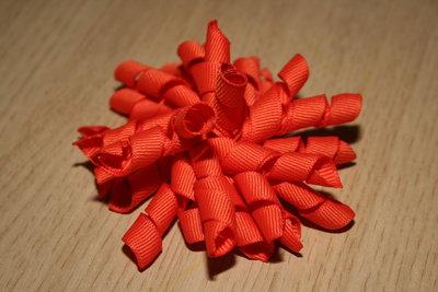 Krullenclip oranje