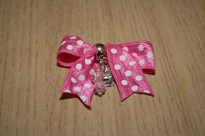 Sweetie roze-witte stip