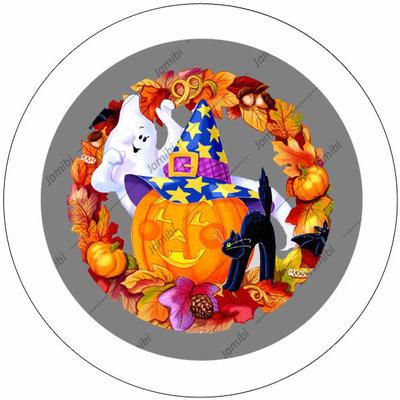 Flatback Happy halloween
