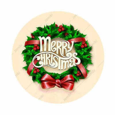 Flatback Merry Christmas