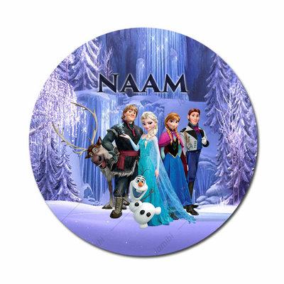 Frozen team met naam