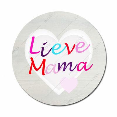 Lieve mama met hart