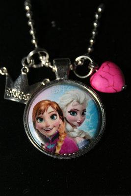 Ketting Frozen Anna en Elsa