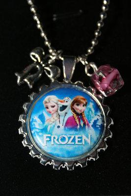 Ketting Frozen Elsa, Anna en olaf