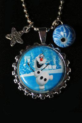 Ketting Frozen Olaf op het ijs