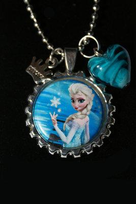 Ketting Frozen Elsa met sneeuwvlok