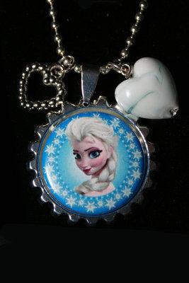 Ketting Frozen Elsa met sneeuwrand