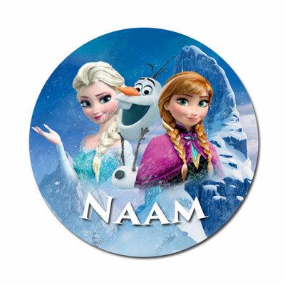 Elsa, Anna en Olaf met naam