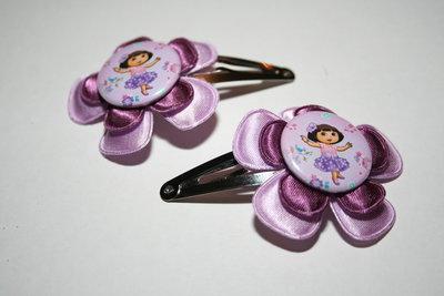Haarclipje Dora lila/paars