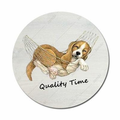 Hond in  hangmat