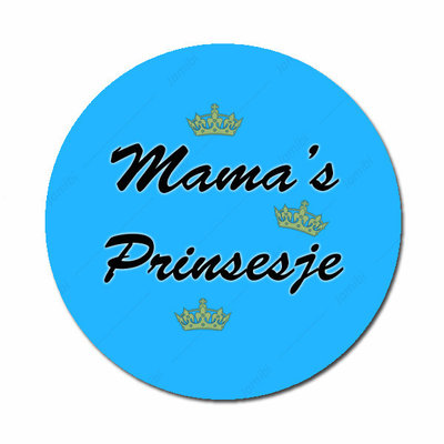 Mama's Prinsesje blauw