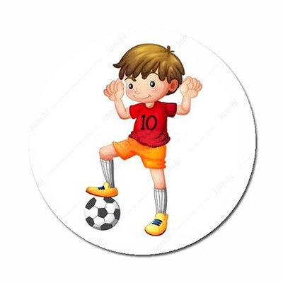 Voetbal jongen