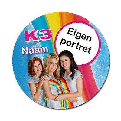 K3 met naam en foto