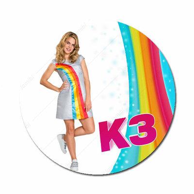 K3 Klaasje met regenboog