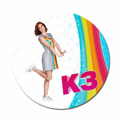 K3 Hanne met regenboog