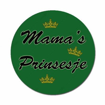 Mama's Prinsesje donkergroen