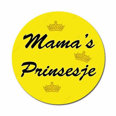 Mama's Prinsesje geel