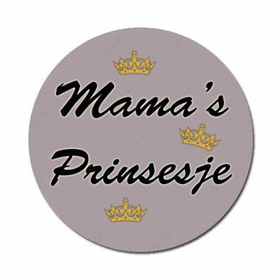 Mama's Prinsesje grijs