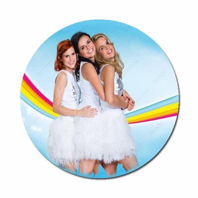 K3 regenboog witte jurk