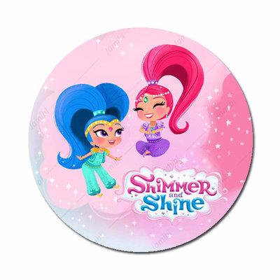 Shimmer & Shine met logo