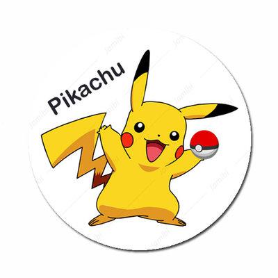Pikachu met pokemonbal