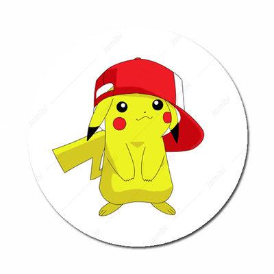 Pikachu met pet