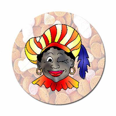 Flatback met Zwarte Piet