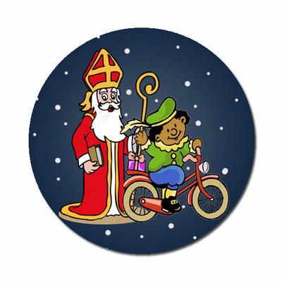 Flatback met Sinterklaas en Piet