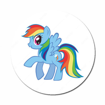 Flatback button My Little Pony Rainbow Dash