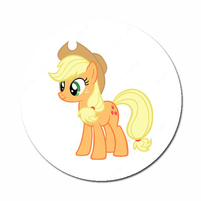 Flatback button My Little Pony Applejack