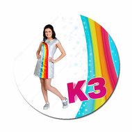 K3 Marthe met regenboog