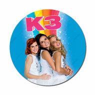 K3 regenboog met logo