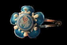 Elsa felblauw met sneeuwvlok