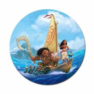 Vaiana & Maui op boot