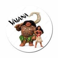 Vaiana & Maui met logo