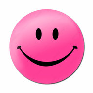 Smiley roze
